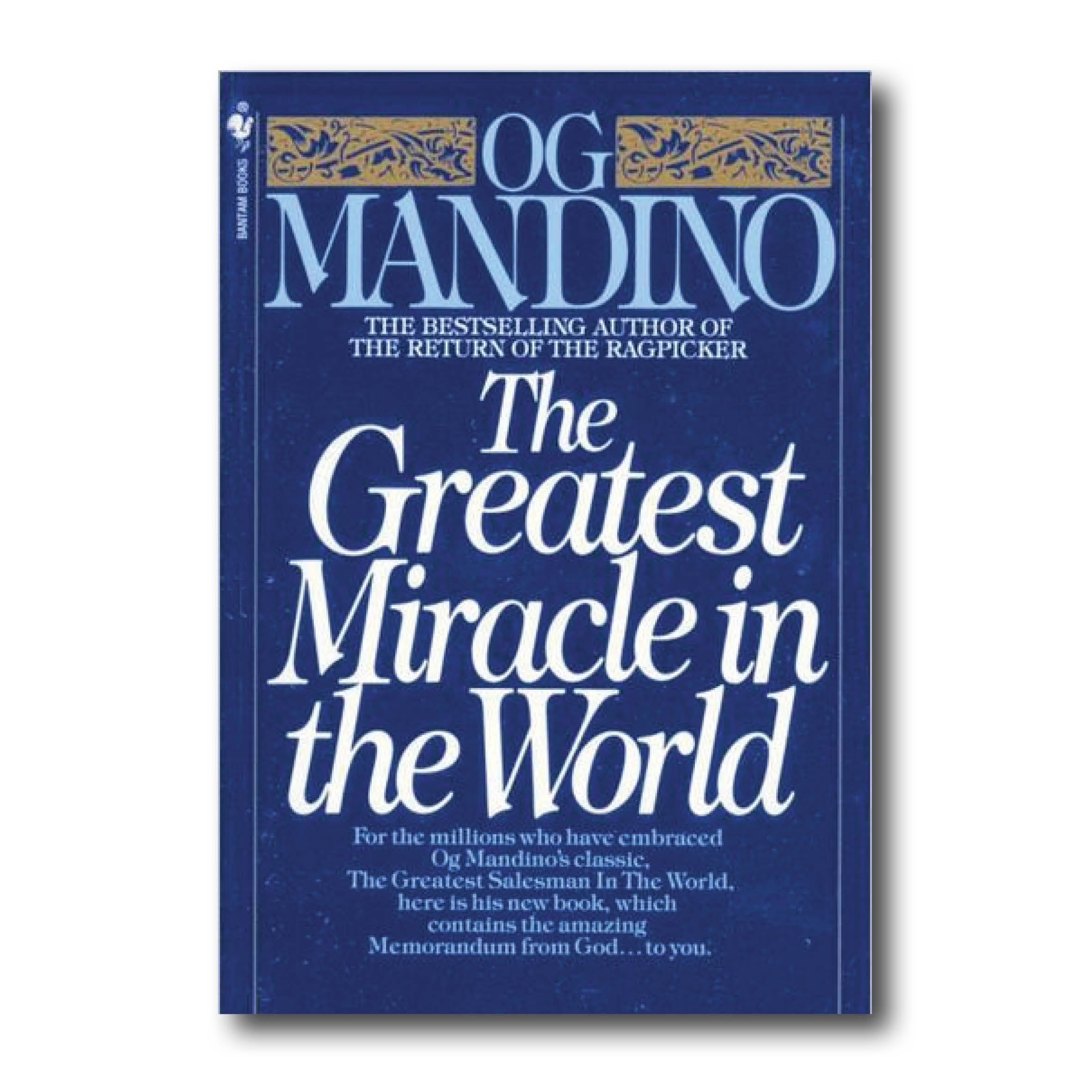 Mandino O 1981 The greatest miracle in the world New York Bantam Books_