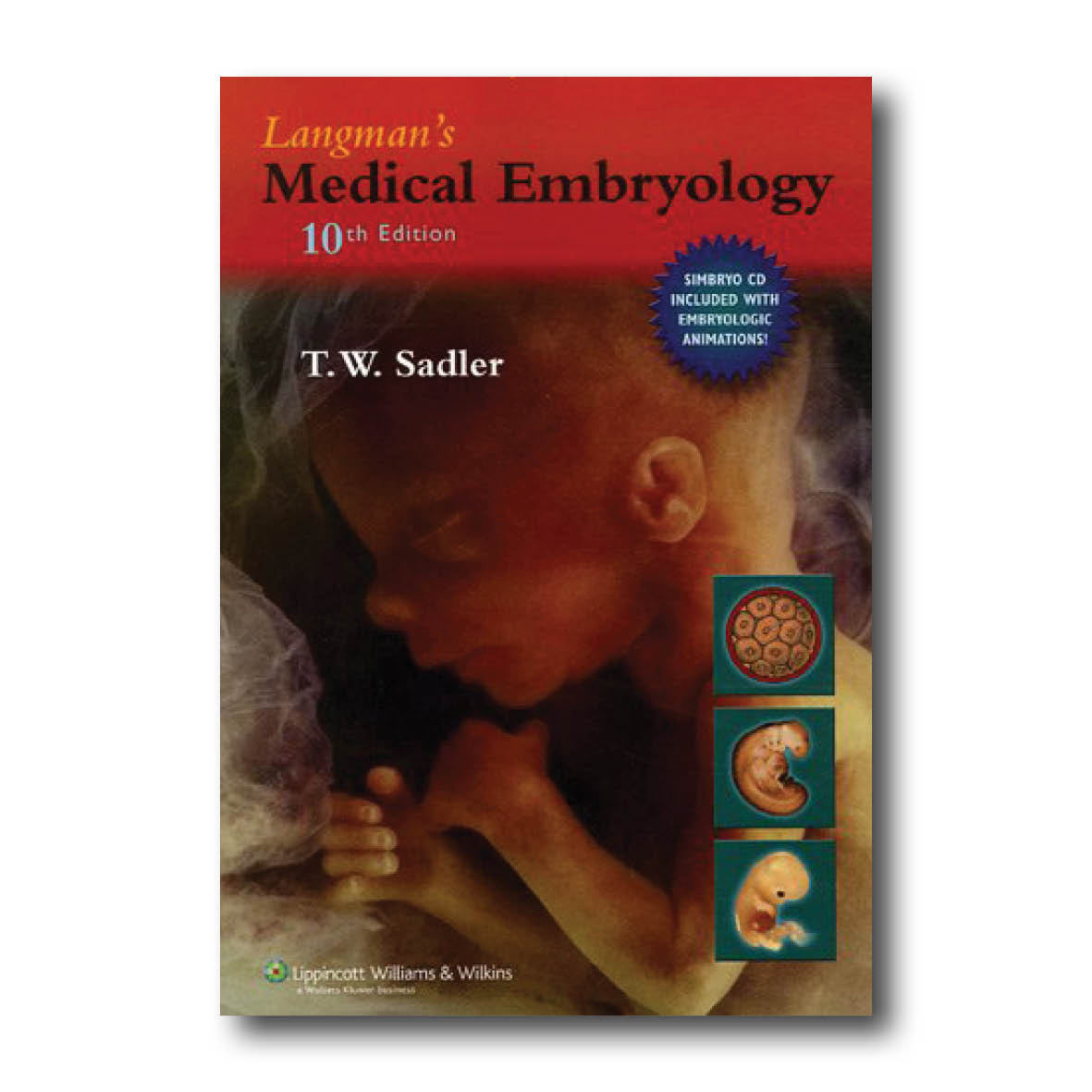 Sadler TW 2006 Langman's Medical Embryology Maryland Lippincott Williams & Wilkins